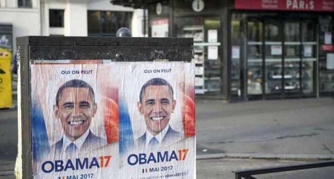 Барака Обаму просят стать президентом Франции