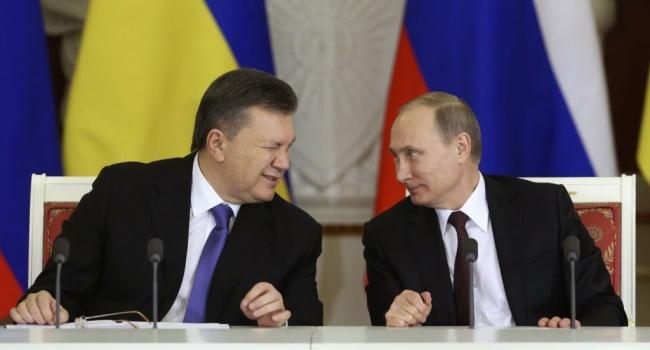 Публіцист порівняв розлучення Януковича і Путіна