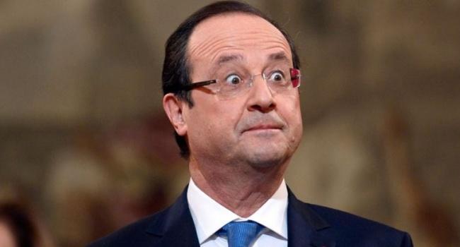 Милиция случайно открыла огонь впроцессе речи Олланда