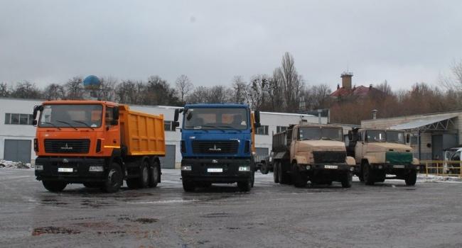Для «Київводоканалу» закупили нову спецтехніку