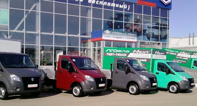 Украинский рынок коммерческого транспорта кконцу зимы вырос наполовину