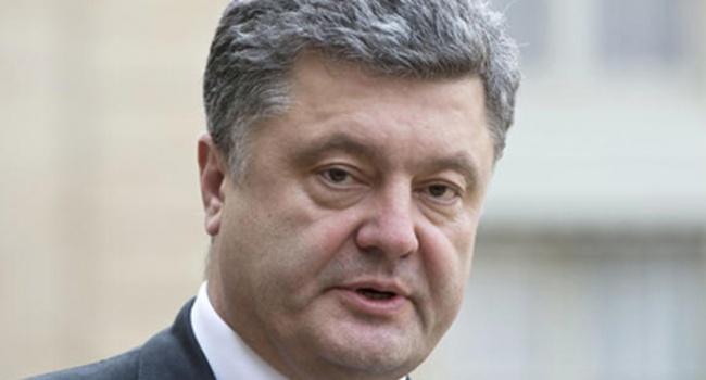 Порошенко призвал использовать нателевидении закон оквотах украинского языка