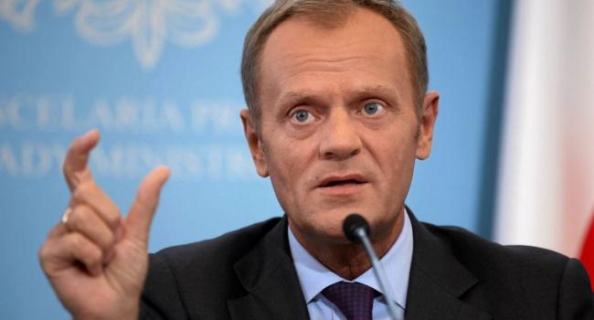 ВПольше расстроились из-за переизбрания Туска главой Евросовета