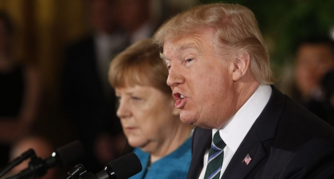 Президент США заставляет Меркель платить НАТО иАмерике— Шантаж отТрампа