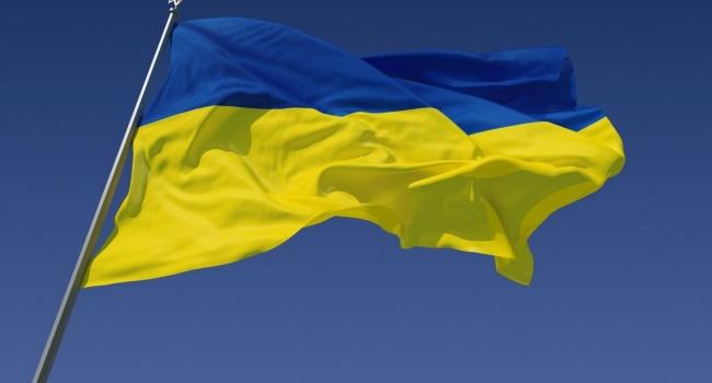 Воккупированном Крыму патриоты вывесили флаг Украинского государства