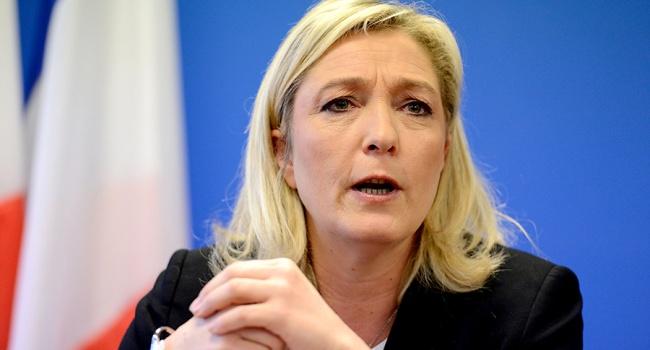 ЛеПен поведала опланах поборьбе стерроризмом напосту президента