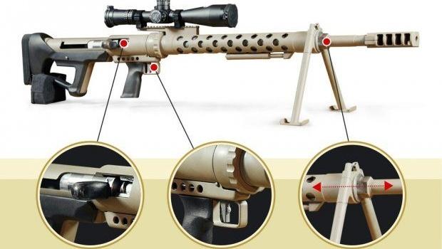 ВХарькове разработали уникальную крупнокалиберную винтовку
