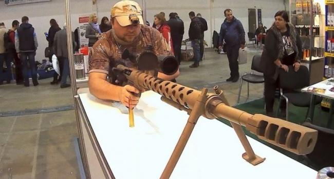 Вгосударстве Украина изобрели неповторимую крупнокалиберную винтовку