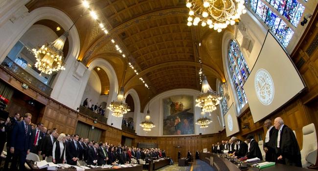 Зеркаль назвала положительным решение интернационального суда ООН