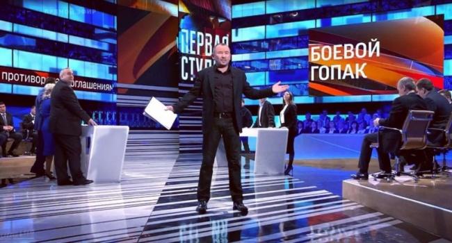 Укроэксперт отказался съесть ведро фекалий вэфире— Запорожский дал заднюю