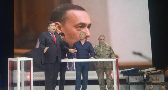 Волонтер: согласиться с тем, что Саакашвили – «наш президент», призывать его «сделать из нас – свиней – людей» - я не могу