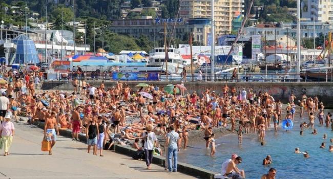 У Криму окупанти хочуть запровадити курортний податок для вдвдувачв