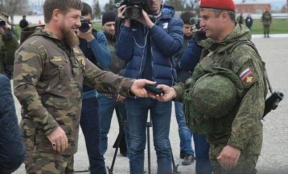 До Сир вдправили чеченський вйськовий батальйон