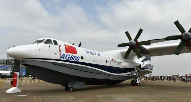 У Китаї провели випробування першого літака-амфібії