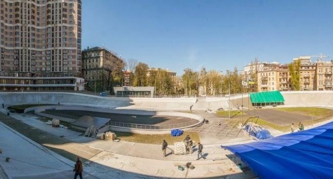 Кличко все-таки сдержал обещание: в Киеве заканчивается реконструкция велотрека