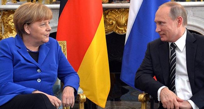 Меркель зустрілася з Путіним