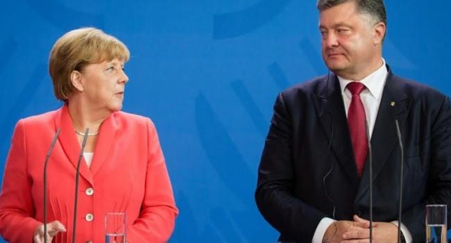 Порошенко таМеркель домовилися про графік зустрічей у«нормандському форматі»