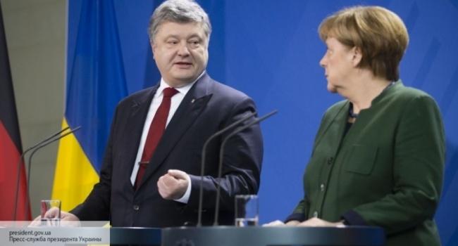 Меркель розповіла Порошенкові про свій візит до Путіна