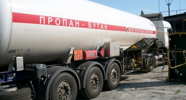 Росія розблокувала постачання доУкраїни скрапленого газу— ЗМІ