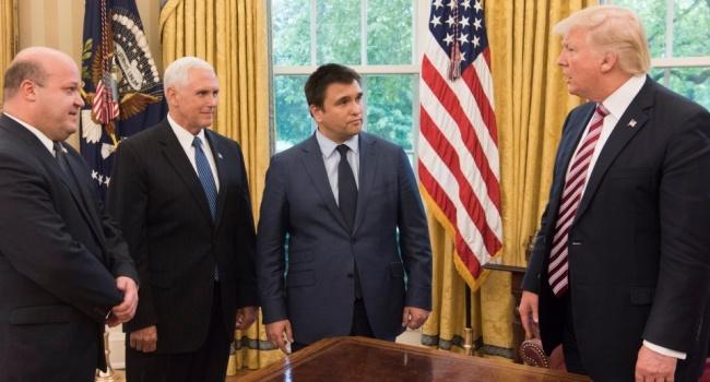 Дипломат предположил, о чем Трамп мог рассказать Климкину