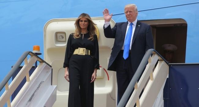 Голышев потроллил Меланию и Дональда Трампа во время визита в Саудовскую Аравию