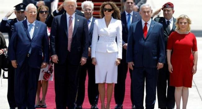 Меланія Трамп відмовилась взяти заруку чоловіка в Ізраїлі