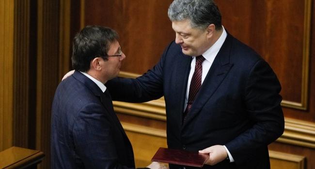 Блогер о задержании налоговиков: Луценко и Матиос – люди Порошенко, выводы делайте сами