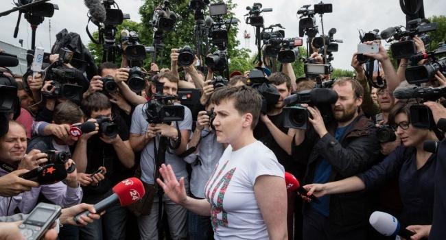 Олешко: Савченко, как бы она не торговала своим лицом на канале регионалов, – навсегда останется в памяти украинцев – предателем