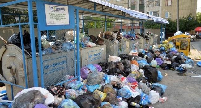 УЛьвові переповнені понад 300 сміттєвих майданчиків