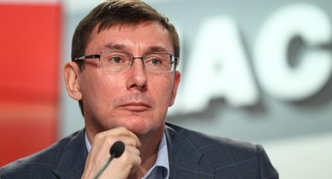 Луценко анонсував ще більш масштабні операції позатриманню корупціонерів