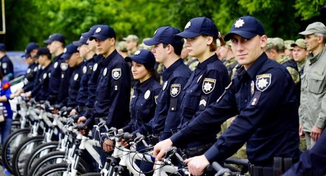 ВКривом Роге начали работать велопатрули полиции