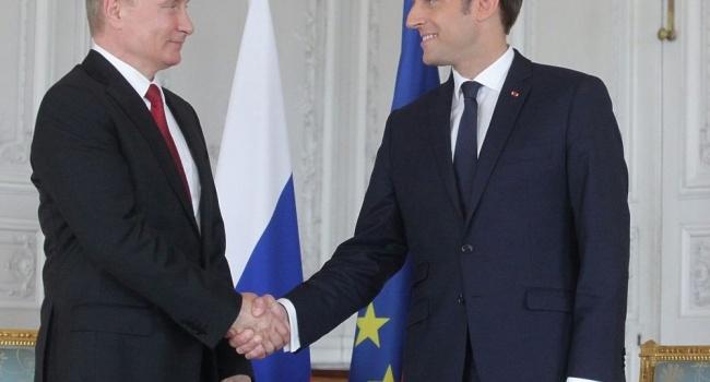 Макрон заявив про готовність посилити санкції проти Росії