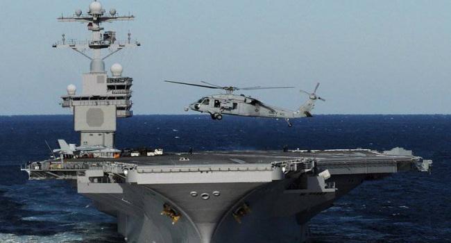 Американські ВМС отримали новий авіаносець