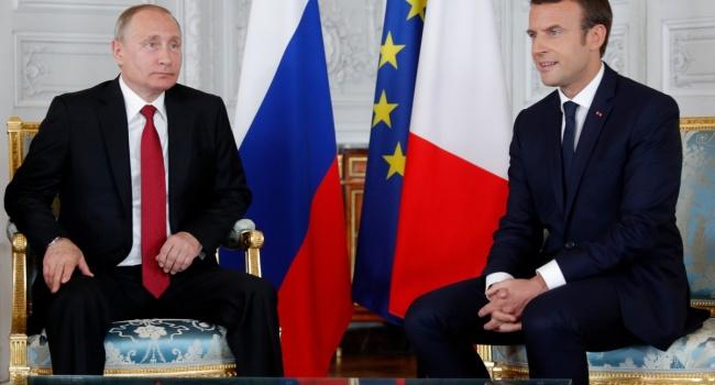 Пощечина отМакрона: дипломат объяснил, как унизили Путина воФранции
