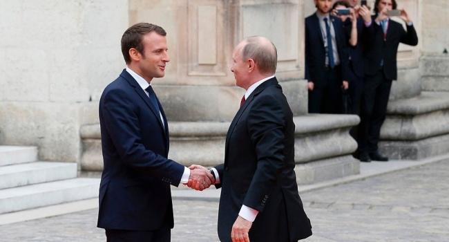 Во Франции Путин потерпел больше унижение – дипломат