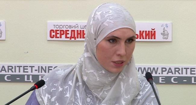 Аміна Окуєва розповіла, що вона та її чоловік знали про підготовку замаху щодо них