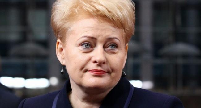 МЗС Білорусі викликало посла Литви через слова Грибаускайте
