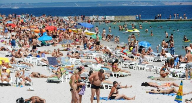 Одесситы показали крымчанам, что такое туристический сезон