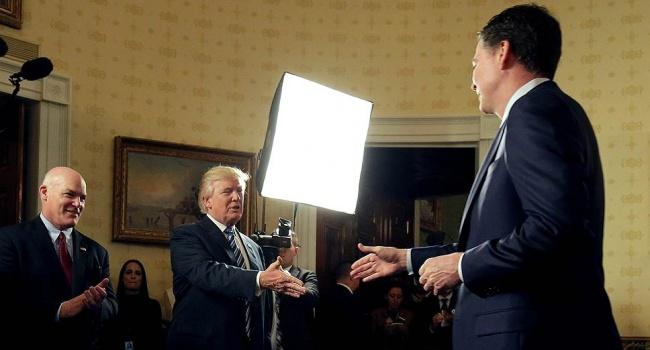 Колишній керівник ФБР розповів, що від нього хотів Трамп