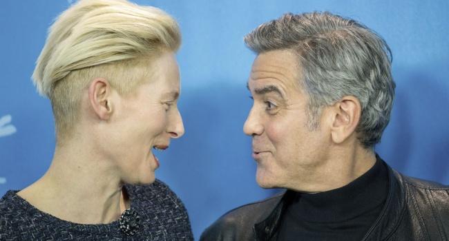 Суинтон: теперь и я смогу посмеяться над Джорджем Клуни!