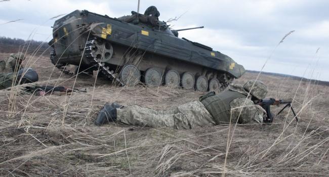 Доба в АТО: загинув один боєць ЗСУ, семеро отримали поранення