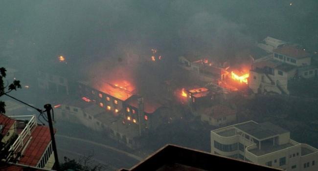 Среди пострадавших нет жителей  Украины— Пожар вПортугалии