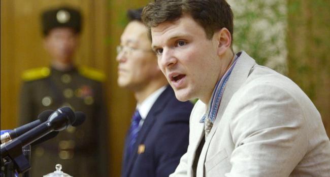 Повернений з ув'язнення в КНДР американський студент помер