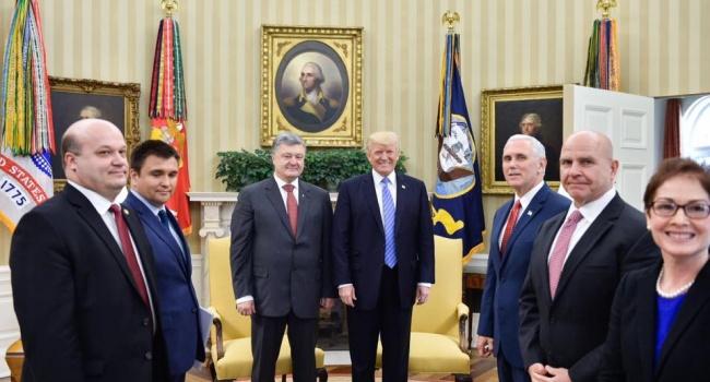 Геращенко: дійсно, наші лобісти активно працювали над зустріччю з Трампом
