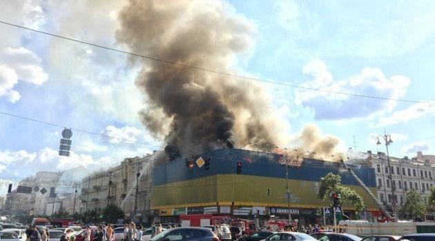 Оприлюднена попередня причина пожежі наХрещатику