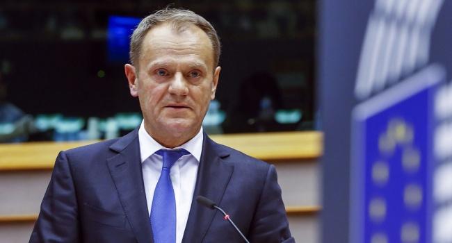Туск: ЄС продовжить санкції протиРФ щена півроку