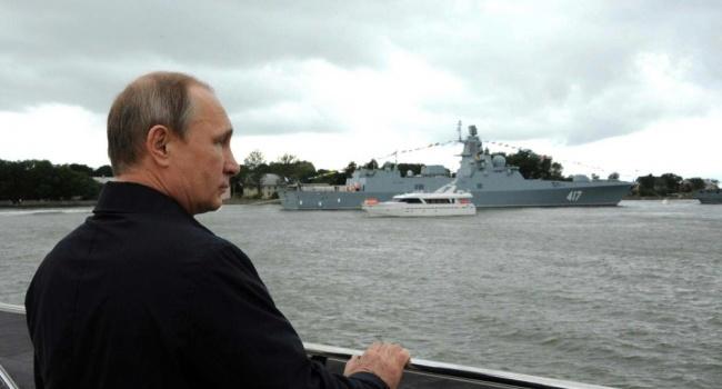 Украина выразила протест всвязи свизитом В.Путина  вКрым
