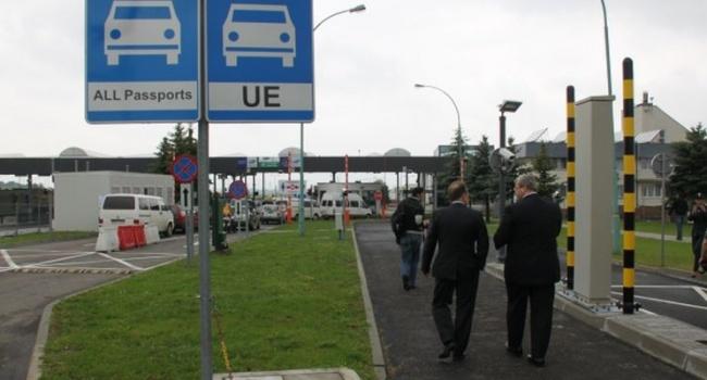 Польские власти закроют пешеходный пункт пропуска награнице с Украинским государством