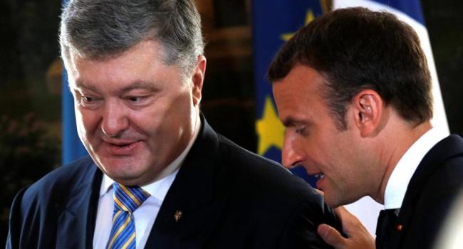 Кремль радикально отреагировал натеплый прием Макроном президента Украины