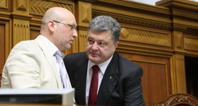 Кирилл Сазонов: Турчинов и Порошенко предложили свои концепции возвращения Донбасса
